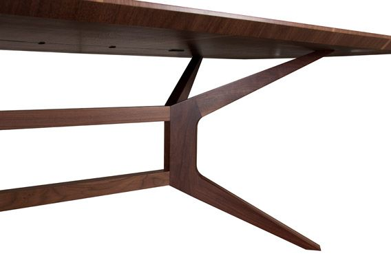 compact wood dining table | froia by alexandrapires