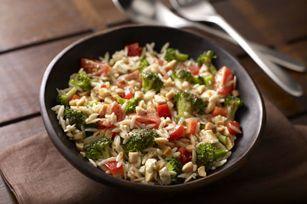 Salade d'orzo et de brocoli