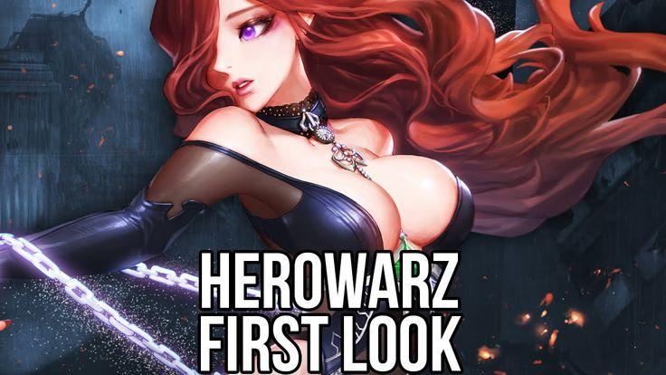 HeroWarz (Free MMORPG): Watcha Playin'? Gameplay First Look (Closed Beta) <3