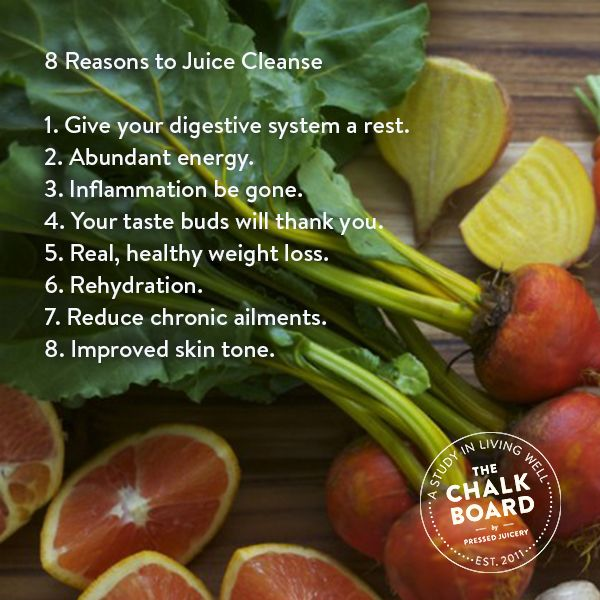1 Doctor's 8 Reasons to Juice Cleanse