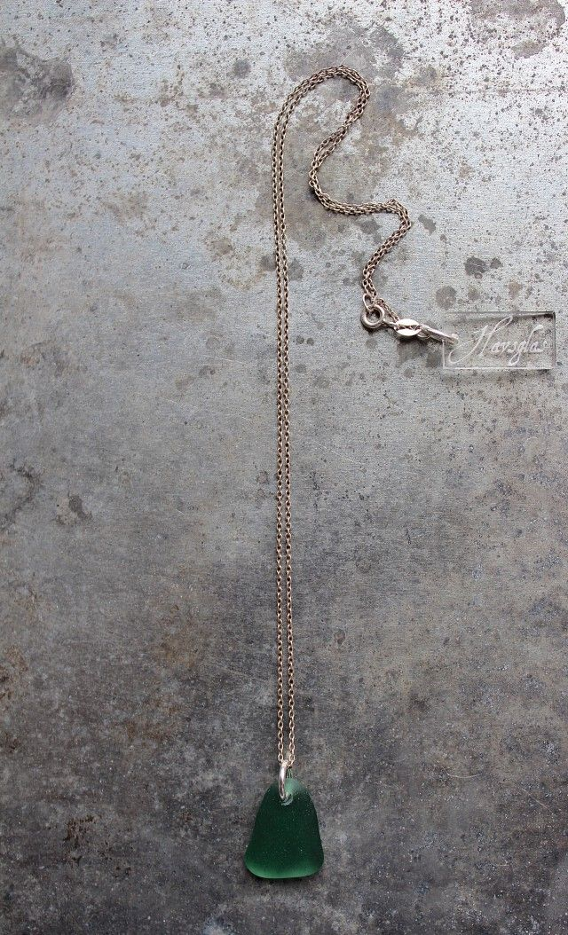 Havsglas Turquoise - halsband