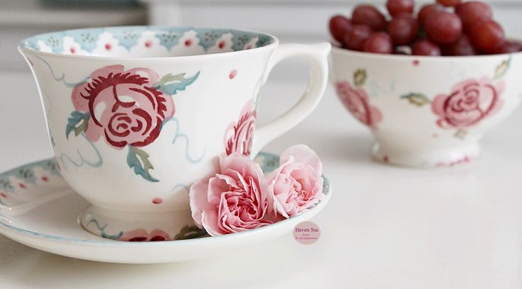 Emma Bridgewater - Rose and Bee - nelliker - Havets Sus - Denmark