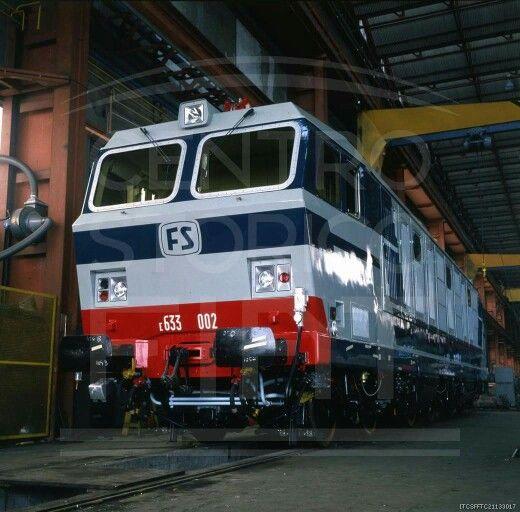 FS E 633.002 prototipo 1982 fiat Savigliano