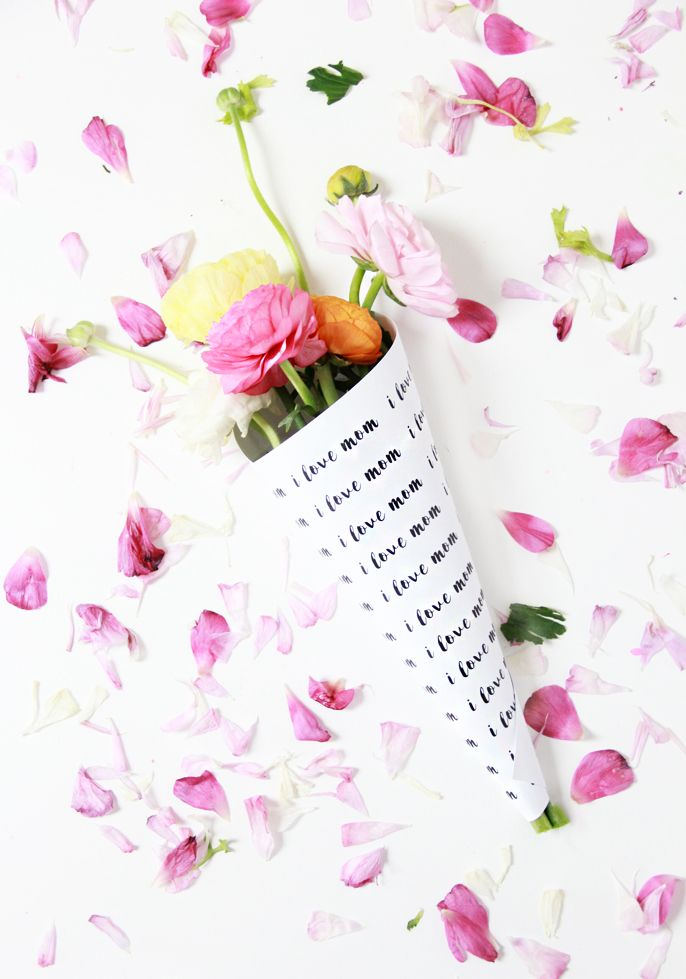 A Bubbly Life: DIY Mother's Day Flower Bouquets Free Printables