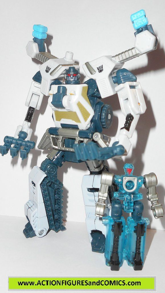 Takara / Hasbro toys action figures for sale to buy TRANSFORMERS: POWERCORE COMBINERS 2009 ICEPICK and minicon partner, CHAINCLAW 100% COMPLETE with all weapons/accessories and parts. Condition: Colle