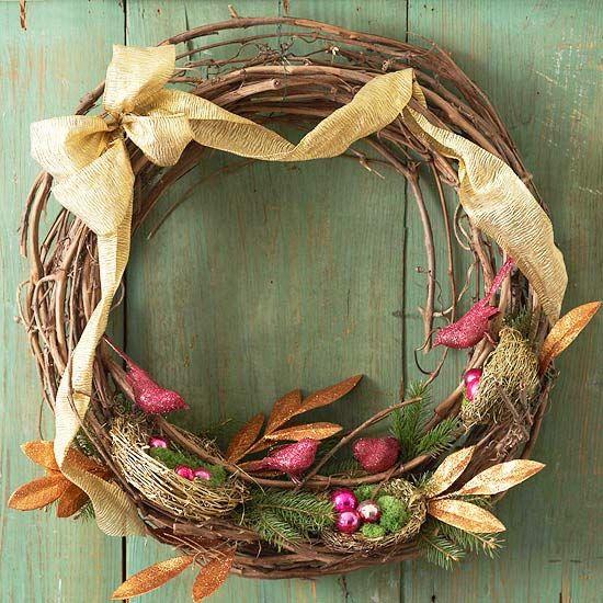 Natural Nest Wreath