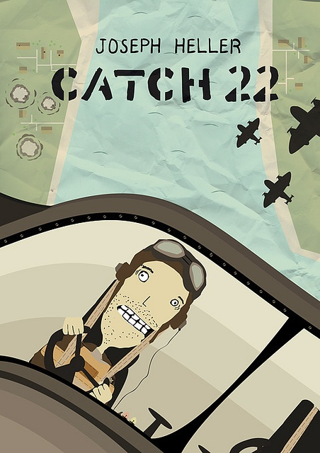 a report on the novel catch 22 by joseph heller Catch-22 by joseph heller - fifty years after its original publication, catch-22  remains a cornerstone of american lit-erature and one of the funniest—and most.
