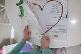 Kochamy walentynki wiec nasze pierwsze posty będą walentynkowe  Propozycja nr 1 na prezent od serca obraz serce łatwy w wykonaniu i bard...