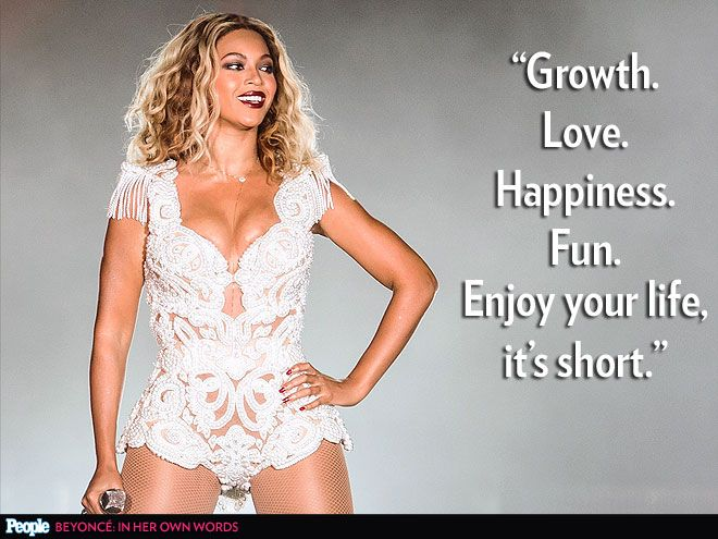 Love me some Beyonce Knowles Carter. ;)