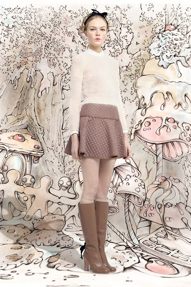 Red Valentino Fall 2013 - Lovely collection of outfits!