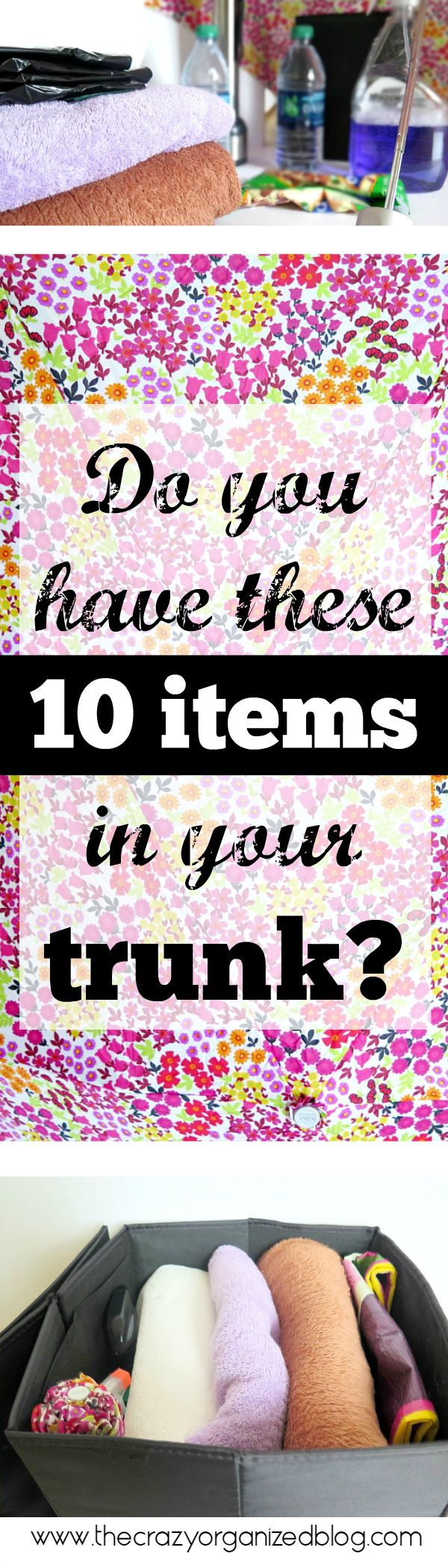 Top 10 Trunk Essentials that you need in your car!