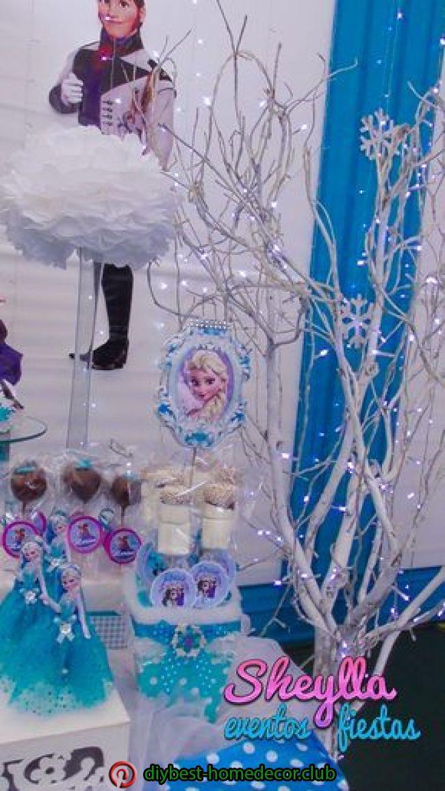 Fascinante decoración temática de Frozen ❄️una aventura congelada, fiesta …