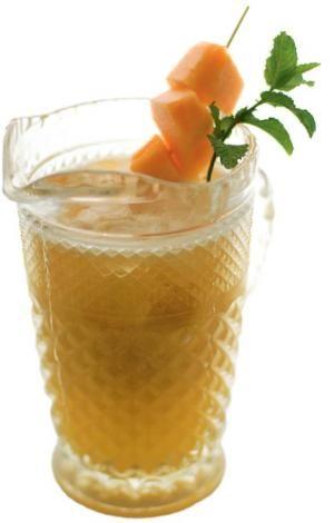 Melon Agua Fresca Recipe — Dishmaps