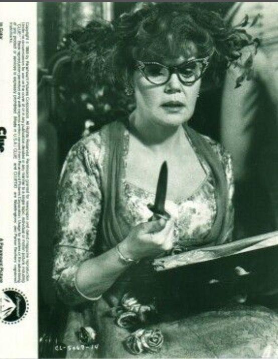 🔎Clue🔍 Mrs. Peacock ( Eileen Brennan )