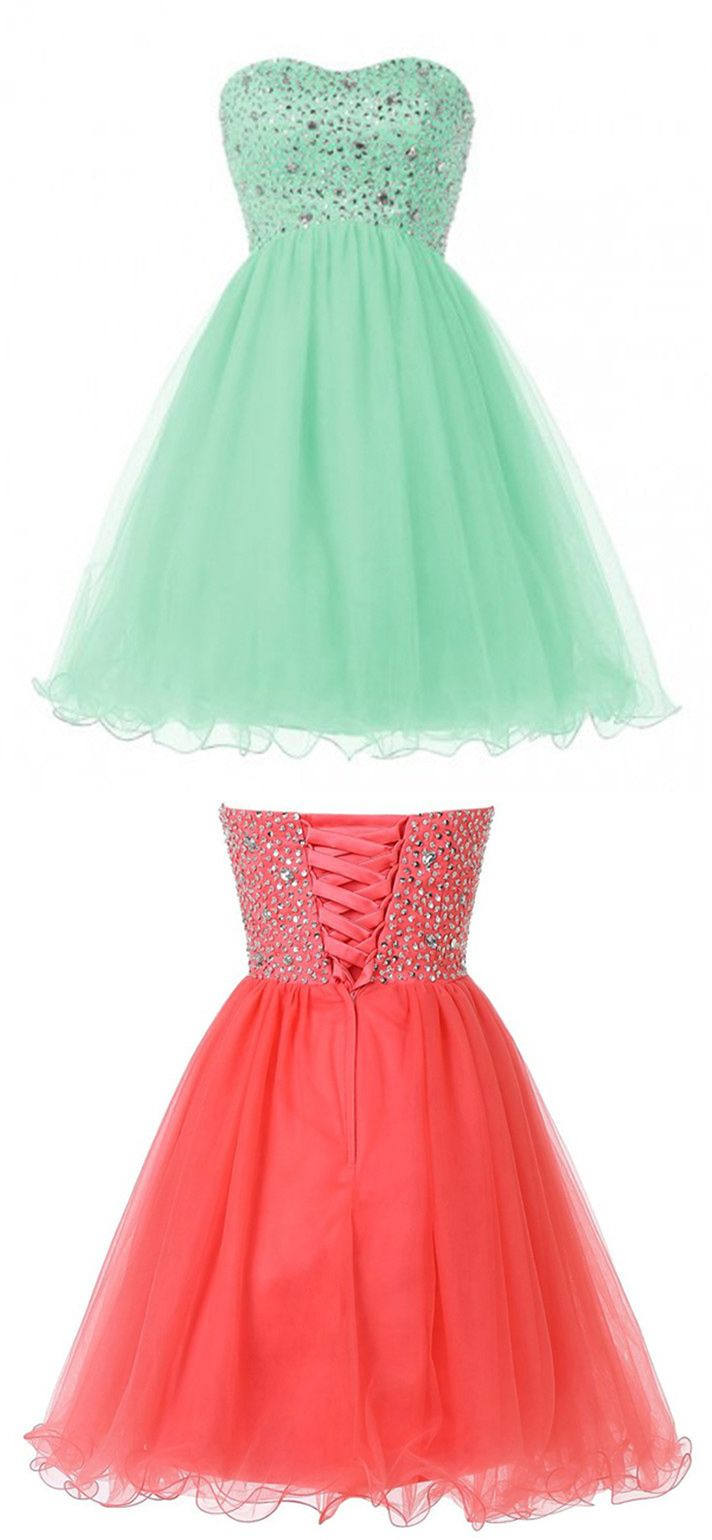 mint green homecoming dresses, homecoming dresses mint green, coral homecoming…