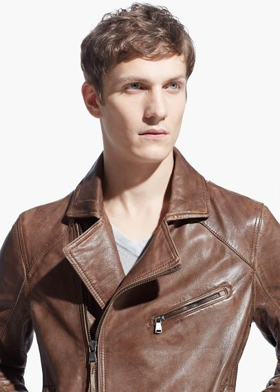 Leather Mens Fashion