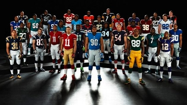 Nike releases new NFL uniform designs; siick