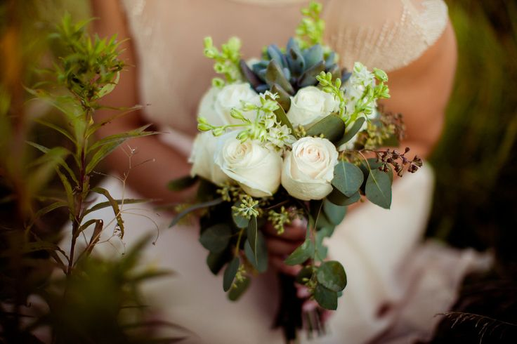 simple rustic bouquet