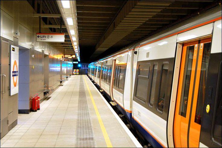 East London Railway Station, UK