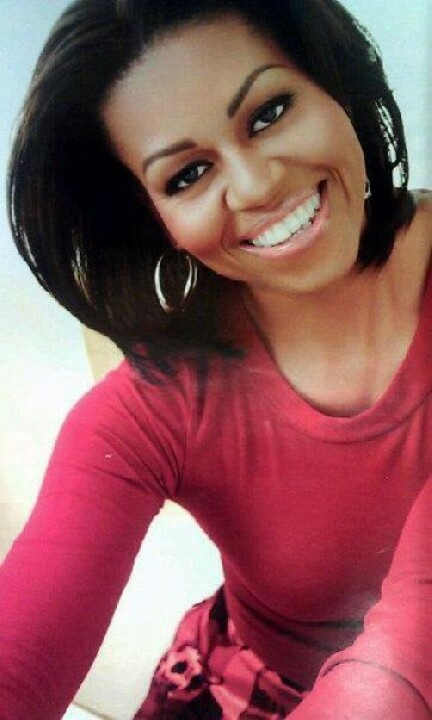 Michelle Obama - Behind every great man is an even greater woman. My God is that…