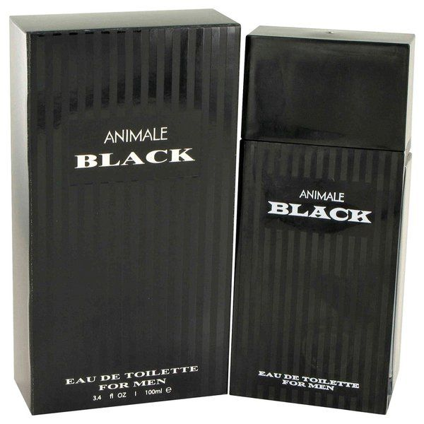 Animale Black Cologne 100ml EDT Men Spray | This unique fragrance for men features an aromatic blend of spicy notes such as ginger and cinnamon combined with a woodsy mahogany base scent. Subtle floral hints of lavender and jasmine bring a fresh feel to this masculine fragrance. This lively scent is well-suited for a day at the office or for a dinner out with friends.