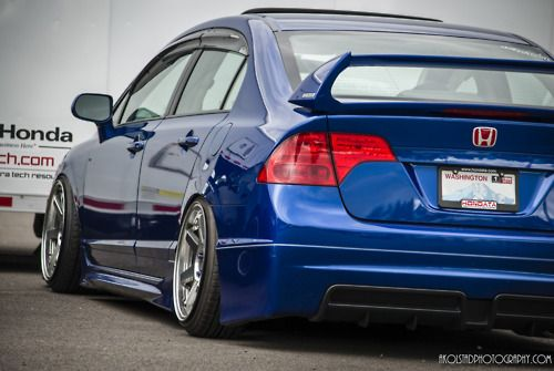 Mugen Honda Civic Si FA5 , Stanced Fitment  Photo by me.