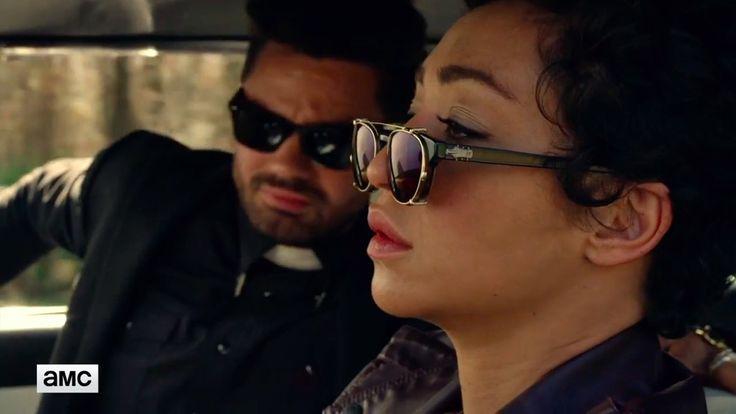Super by Retrosuperfuture Giaguaro Brow-Bar Sunglasses inspired by Tulip O'Hare in Preacher Season 2 | TheTake