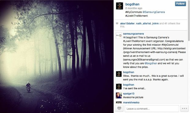 Controversy Erupts After Stolen Picture Wins Samsung Photo Contest