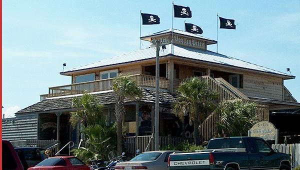 Peg Leg Pete's, Pensacola Beach, FL (right across the street from San Souci!)