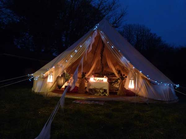 86 Best Images About Glamping Bell Tents On Pinterest