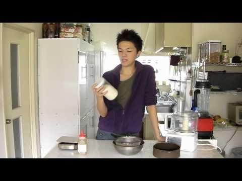 【菜食レシピ】ローチーズケーキその1〜クラスト〜 - YouTube