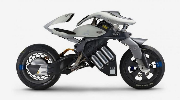 yamaha presents the motoroid, a motorcycle concept that can interact with the rider thanks to artificial intelligence.