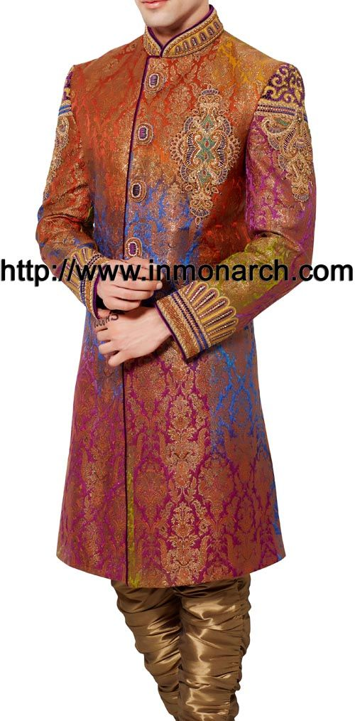 Fascinating Reception Sherwani Itemcode :SH514
