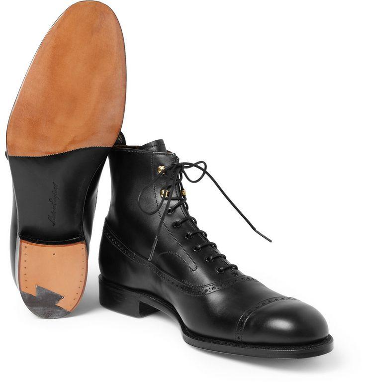 Grenson X Foot The Coacher Mrporter Men S Shoes Pinterest Brogues Gentleman Shoes And Mr