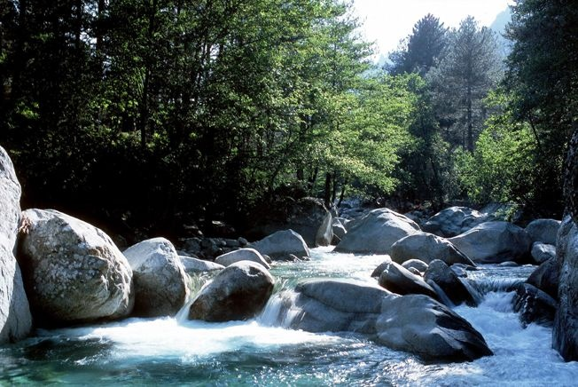 Les belles cascades de Corse.