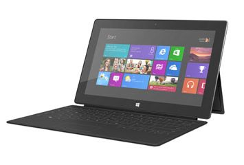 Surface with Windows RT - psyched about this.  Hope it's an iPad killer!