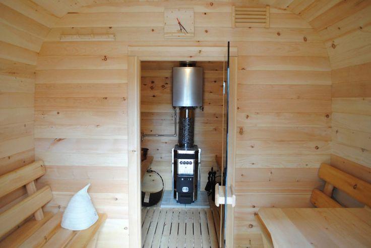 Баня-бочка из сибирского кедра, готовая баня под ключ с доставкой по всей России!