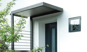Vordach selber bauen