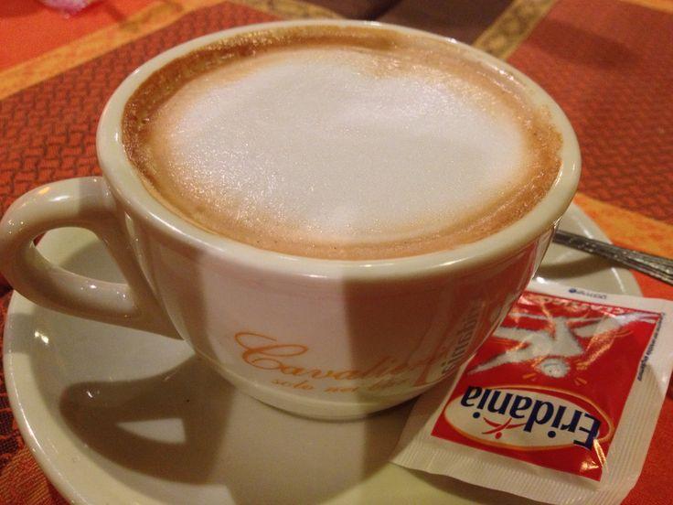 Cappuccino drunk in Rome