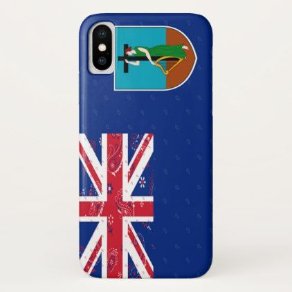 Montserrat Flag Phone Case - trendy gifts cool gift ideas customize