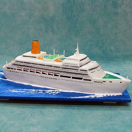 Cruise Liner - Boats / Ships / Sea - 3D Cakes