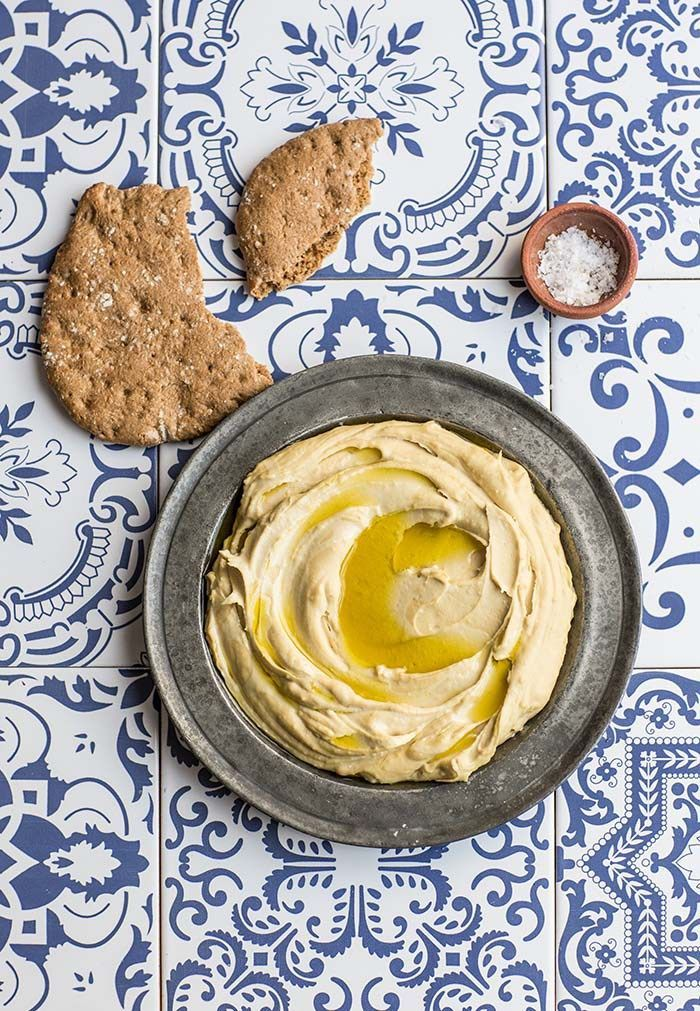 Yotam Ottolenghi and Sami Tamimi's famous basic hummus recipe