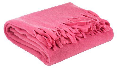 Pledd 1.3x1.7m rosa fleece; Pledd til Sanna, fotobakgrunn til meg!