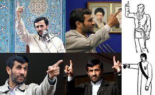 "Mahmoud Ahmadinejad, a Mason and Illuminati operative - ""Waiting To Rot: The 12 masonic signs of recognition"""