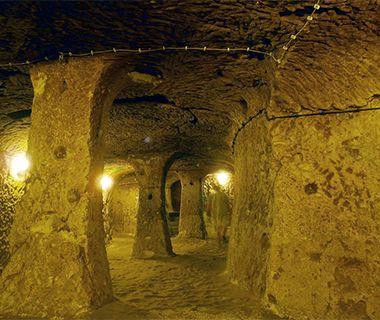 Cappadocië. Derinkyu ondergrondse stad