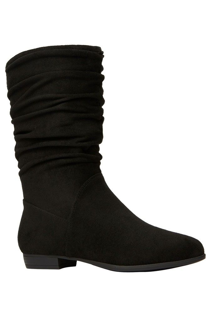 Womens Call It Spring Slouch Flat Boots