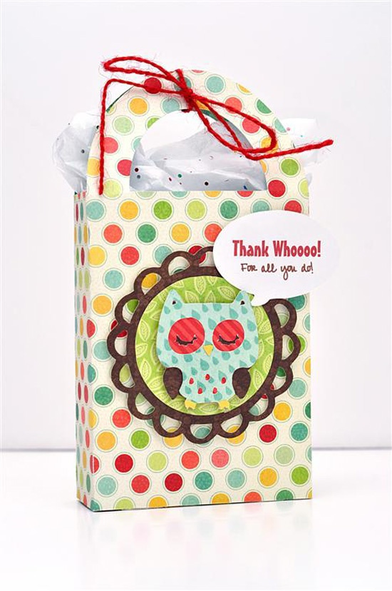 99 best cricutsilhouette bags boxes containers bag toppers thank whoooo for all you do made with the cricut negle Choice Image