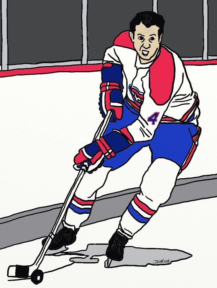 Jean Béliveau, hockey legend. RIP.