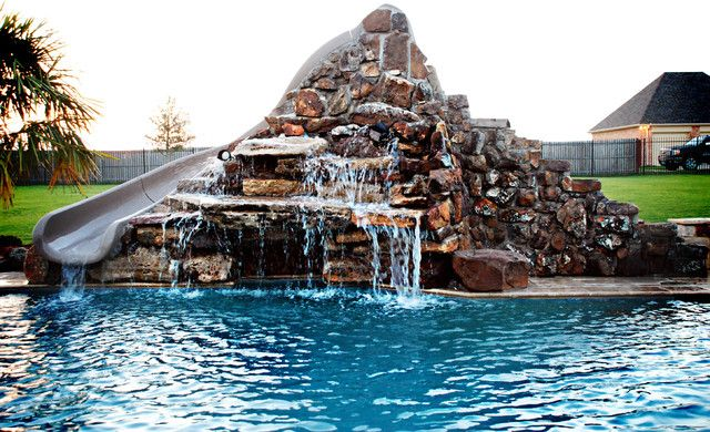 1000 images about crazy waterslides on pinterest the for How to build a swimming pool slide
