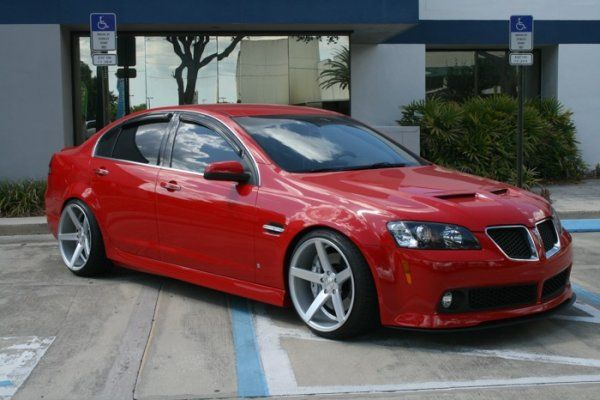 Pontiac G8: the last great Pontiac. Even if it is a rebadged Holden